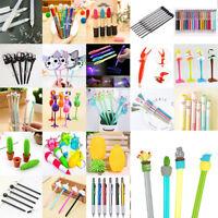 Creative Lots Cute Cactus Gel Ink Pen Ballpoint Writing Office School Supply