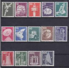 Briefmarken aus der BRD (1970-1979) mit Technik-Motiv