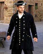 Men's Captain De Lisle Coat, finest fabric, handmade one by one, very nice!!!