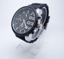 Vive Herren Xxl  Uhr Armbanduhr Schwarz / Silber Neu Top