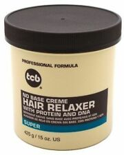 TCB Hair Relaxer No Base Creme Super Jar 15 oz (Pack of 2)
