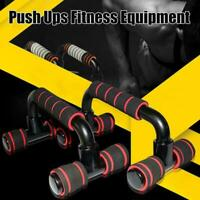 Push Up Bars Stand Foam Handles For Chest Press Pull Fitness Exercise Deko