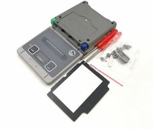 Replacement Shell housing Set + Screwdriver for Gameboy Advance SP GBA SP (SNES)