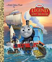 Sodors Legend of the Lost Treasure Thomas  Friends Little Golden Book