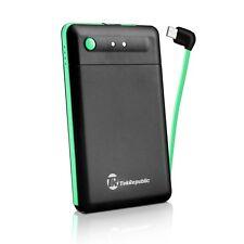 Tek Republic Portable Charger 2500mAh External Battery Bank W/Micro USB Cable