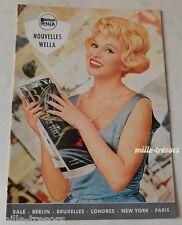 Revue 1959 Nouvelles WELLA N°4 Produits & Accessoires pour les cheveux - Vintage