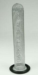 """EPDM TRI CLAMP SOCK SCREEN GASKET 1-1/2"""" 16 MESH 6"""""""