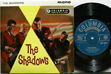 "The SHADOWS s/t 1960 UK ORG 7"" EP Hank Marvin TONY MEEHAN Jet Harris MINTY !!!"