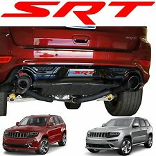 Red SRT Tow Hitch Cover Decal For 2014-2017 Jeep Grand Cherokee New Free Ship