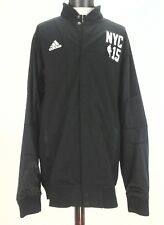 ADIDAS 2015 NBA ALL STAR Mens JACKET Snap Black Game Warm-Up On Court 2XL-2 $110