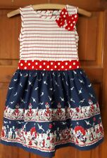 Vintage-style Girl's Summer Dress Beach Holiday Aged 8 Years (7)