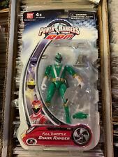 Power Rangers RPM Full Throttle Shark Ranger Green Ranger