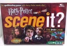Harry Potter Scene It DVD Game 2005 Mattel Collectible EUC Complete