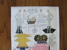 1926 BABY MCCALL Paper doll Set REPRO