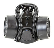 Cosplay Gas Mask Respirator Punk Goth Rave Cyber Tube Real Mask Burning Man Use
