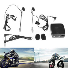 Motorcycle Intercom 2-ways Hands-free Communication System Intercom Earphone Kit