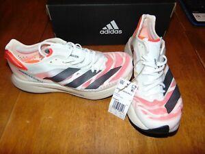 Nib adidas adizero adios pro 2 running shoes mens size 7.5 womens size 8.5 white