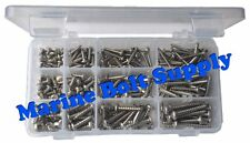 Type 316 Stainless Steel Phillips Pan Sheet Metal Screw Assortment Kit