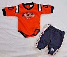NFL Chicago Bears Onezie and Sweat Pants Set 0-3 Months