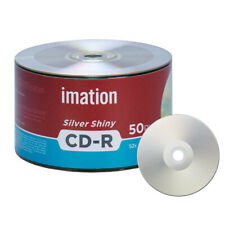 50 Pack Imation CD-R 52X 700MB/80Min Silver Shiny Blank Media Recordable Disc