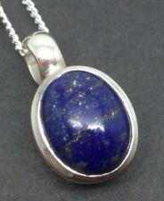 """Less than 13"""" Lapis Lazuli Not Enhanced Fine Necklaces & Pendants"""