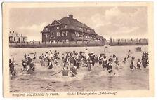 """AK, Kolonie Südstrand auf Föhr, Kinder-Erholungsheim """"Schöneberg"""", 1921"""