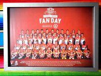 ✺Framed✺ 2020 SYDNEY SWANS AFL Poster - 45cm x 32cm x 3cm