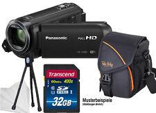 PANASONIC HC-V380EG-K  32GB KOMPLETTSET ! CAMCORDER V380 ****