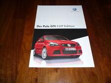 VW Polo GTI CUP EDITION Prospekt 06/2006