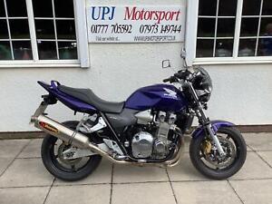Honda CB 1300 2007 07 reg naked muscle bike AKRAPOVIC FULL SYSTEM,  paper work
