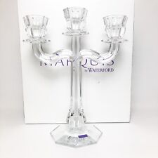 Marquis by Waterford 3 Arm Candelabra Crystal Made in Germany NEW 701587274913
