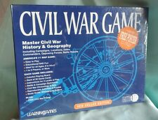 New Civil War Game Learningames Deluxe Edition EMA Historical Battle Map Poster