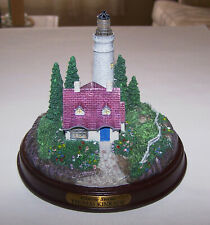 Thomas Kinkade - Clearing Storms - Lighted Figurine - Wonderful Condition!