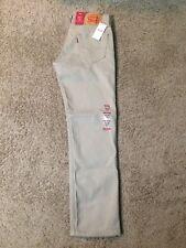 Levis 511 Mens Jeans Cotton Denim Slim Fit Straight Khaki Chino Tan 5 Pocket 29 30