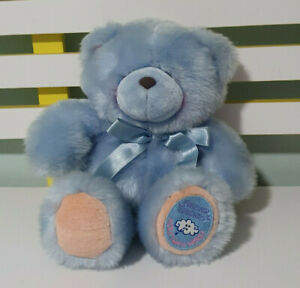 FOREVER FRIENDS HALLMARK TEDDY BEAR BLUE 30CM SOFT PLUSH BEAR TOY!