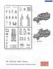 Plastic Soldier Allied M5 Halftrack   1/72 Scale Model Kit. 1 - Sprue