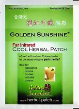 Far Infrared Cold Herbal Patch by Golden Sunshine