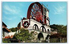 Postcard Laxey Wheel Isle of Man