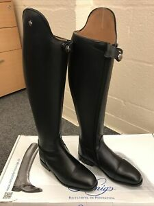 Konig Palmero Black Dressage Boots Size 5.5