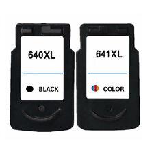 2x Canon Generic PG-640XL CL-641XL 640 641 XL Pixma MG2260 MG3260 MG4160 MG4260