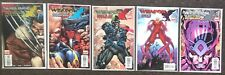 Weapon X Days of Future Now # 1 2 3 4 5 Marvel X-Men Set lot Bart Sears