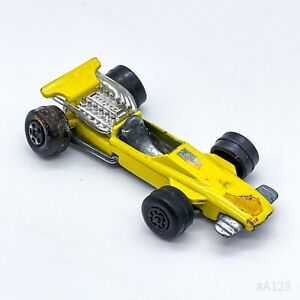 Matchbox Series No. 34 Superfast Formula 1 1970 Lesney Made in England - Gelb