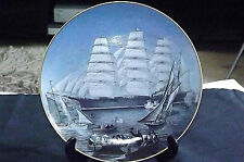 VINTAGE THE GREAT CLIPPER SHIPS COLLECTORS PLATE 'GREAT REPUBLIC' C1981 L.Pearce