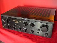 Amplificatore Integrato Sony TA-F500ES Vintage Integrated Stereo Amplifier