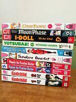 Mixed Manga Lot 10 Books Godchild Moon Phase Hayate Combat Butler I-Doll