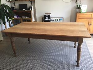 Large Farmhouse style Dining Table