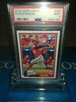 2018 Topps Archives #265 Victor Robles Rookie PSA 9 MINT ! NATIONALS ~LOW POP🔥⚾