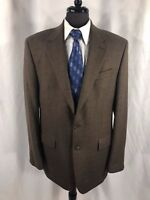 Ralph Lauren Mens Brown Herringbone Blazer Jacket Sport Coat 42L