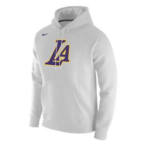 New Los Angeles Lakers Black Mamba Nike City Edition Club Fleece Pullover Hoodie