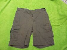 Men's Columbia Sportswear Casual Shorts Waist 30,100% Cotton, 6- Pockets, Brown